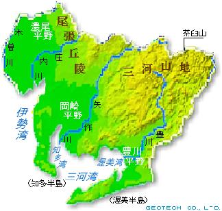愛知県の地形・地盤 ...