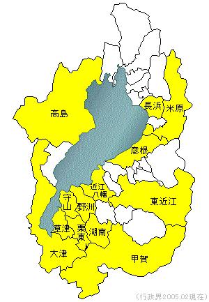 滋賀県の地形・地盤 : ジオテック株式会社