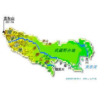 東京都の地形・地盤 : ジオテック株式会社